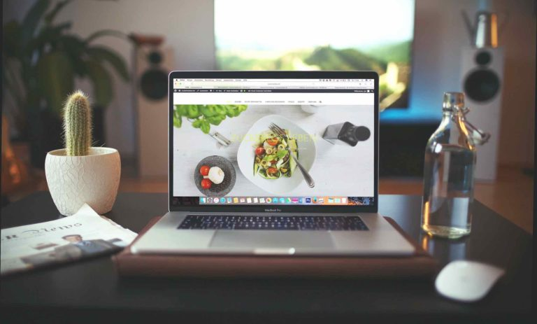 Web und Mobile Salat in Browser